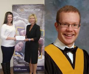 IYC Special Bursary Winners Sara Paynter and Gavin Fraser